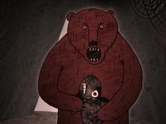 Kalapüüdja naine ja karu / Fisher Woman and a Bear